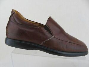 NUVOLA BY SANTONI Brown Sz 8 D Men Gore Loafers