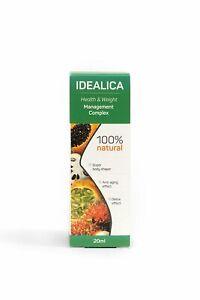 Original IDEALICA - 100% natural health & weight managment complex!