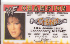 CHYNA wrestling novelty collectors card Drivers License wwe wwf wcw