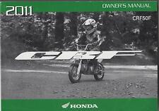 2011 HONDA MOTORCYCLE CRF50F OWNERS MANUAL (433)