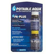 NEW Potable Aqua PA Plus Iodine Germicidal Water Purification 50-Tablets