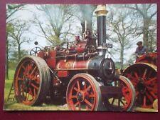POSTCARD  MARSHALL TRACTION ENGINE 6 HNP BUILT 1905