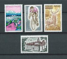 SÉRIE TOURISTIQUE - 1972 YT 1725 à 1726 et 1723 à 1724 - TIMBRES NEUFS** LUXE