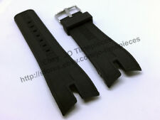 26mm Black Rubber / Silicone Watch Band / Strap Compatible For Roger Dubuis
