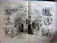 1875 Duke Of Edinburgh Opened York's Exhibition At Leeds