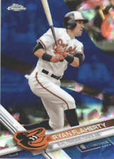 RYAN FLAHERTY 2017 TOPPS CHROME SAPPHIRE EDITION #314 ONLY 250 MADE
