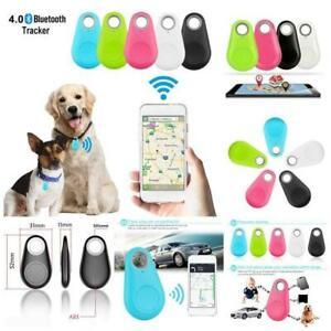 Mini Bluetooth GPS Halsband für Hunde Katze Anti-Lost Pets Key Wallet Car