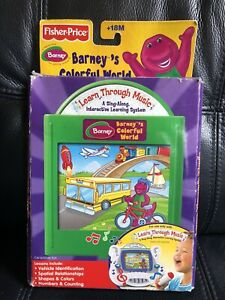 Fisher Price Learn Through Music Barney Colorful World