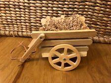 "New ListingMuffy VanderBear Wooden Farm Cart ~ ""Down on the Farm"" ~ Pristine ~ So Cute!"