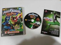 POWER RANGERS S.P.D. L´AMICIZIA DVD 3 EPISODI ENGLISH ITALIANO REGION 2 JETIX
