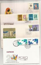 THAILAND- 59 FDCs (1966-on)  all different,unaddressed/ nice variety