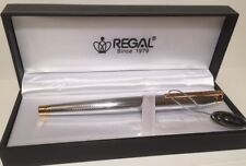 Regal Executive Lightweight Gold Edged Rollerball Pen - George - Gift Boxed