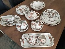 Crown Ducal English Ironside Servies 6 delig