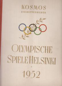 2x Olympische Spiele 1952 Top Zustand vollständig Sommer + Winter