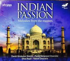 Indian Passion - Melodies From The Masters - Indian Classical Audio CD
