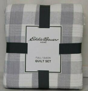 *NEW* Eddie Bauer Lakehouse Cotton Quilt Set
