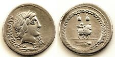 Republica Romana-Fonteia. Denario. 35 a.C. Roma. MBC+/VF+. Plata 4,2 g.