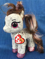 W-F-L TY Beanie Boos Cinnamon Pony Pferd gefleckt 15 cm Glubschi Boo´s