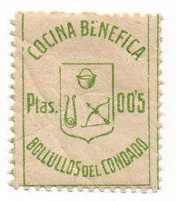 Sello Local Guerra Civil Bollullos del Condado -Cat. Galvez 133.  ORD:1363