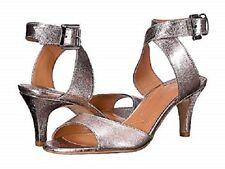 a16c7057304 J. Renee Soncino Rose Gold Metallic Strappy Kitten Heel Size 6M  99