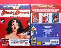 rare box set 21 dvd wonder woman la serie completa complete series lynda carter