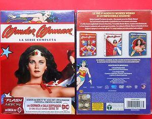 wonder woman rare box set 21 dvd serie completa complete series lynda carter usa