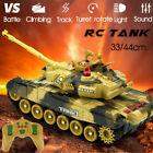 2.4G RC Tank Crawler Military Battle Vehicle Remote Control Toys Car US RC Car