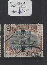NORTH BORNEO  (PP1912B)  8C POSTAGE DUE BP  SG D35   VFU