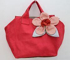 NEW Woman Handmade Denim Canvas Handbag LARGE size ------14