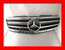 Mercedes R230 SL500 SL600 SL55 03~06 Grille Grill AMG Black - NEW