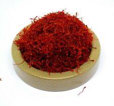 Pure Saffron Zaffron Azafran Organic All-red filament Grade A 1 gram