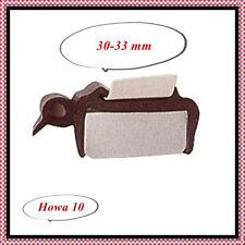 Muster Fensterdichtung Gummiprofil für Ausstellfenster 30-33mm  Musterstück