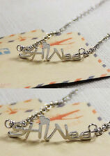 Korean Kpop Band SHINee Titanium Steel Necklace Onew Jonghyun Key Minho Taemin