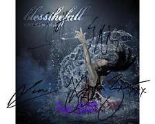 BlessTheFall - Awakening Album SIGNED AUTOGRAPHED 10X8 PRE-PRINT PHOTO