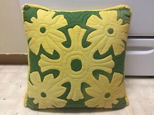 Hawaiian Quilted Pillow