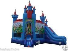Commercial Inflatable Bounce House Slide Combo Castle Moonwalk Jump Tentandtable