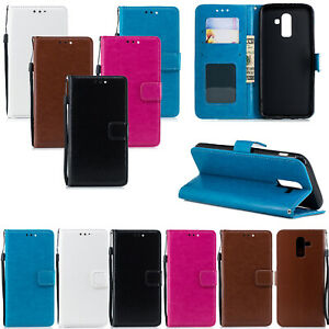 Case For iPhone 12 12 Pro 7 7 Plus 6S Samsung S8 S9 S7 Leather Flip Wallet Cover