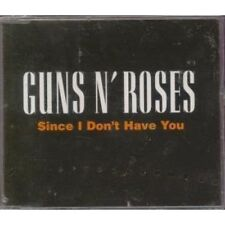 Guns n' Roses Since I don't have you (1994) [Maxi-CD]