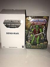 Demo Man Masters of Universe Classics Club MOTUC