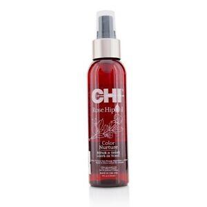 NEW CHI Rose Hip Oil Color Nurture Repair & Shine Leave-In Tonic 118ml Mens Hair