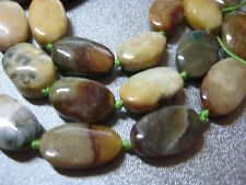 Southeast Asia Jade Oval Beads 25pcs