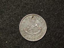 BANK OF UPPER CANADA - ONE HALF PENNY TOKEN