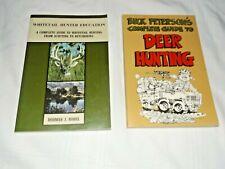 Lot of 2 Deer Hunting Books