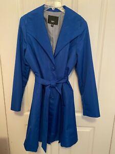 Mossimo Women Spring light weight Blue Taffeta Coat size XXL  lined NWOT