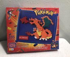Pokemon Mega Bloks #06 Charizard Building Block Set 2045 Rare
