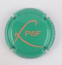 NOUVELLE capsule champagne LECOMTE Père et fils initiales vert