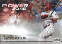 2019 Topps Stadium Club Power Zone #PZ-17 Rhys Hoskins Philadelphia Phillies