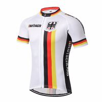Men's Cycling Clothing Bicycle Jersey Sportswear Short Sleeve Bike Top Germany