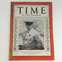 Time Magazine February 12 1934 Vol 23 #7 Soviet Military Officer Klim Voroshilov