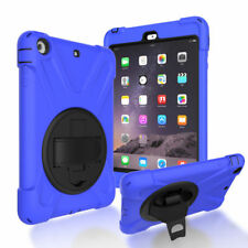 3 in 1 Silicone Hybrid Protective Case Cover Skin for Apple iPad Mini 1 2 3 Kids
